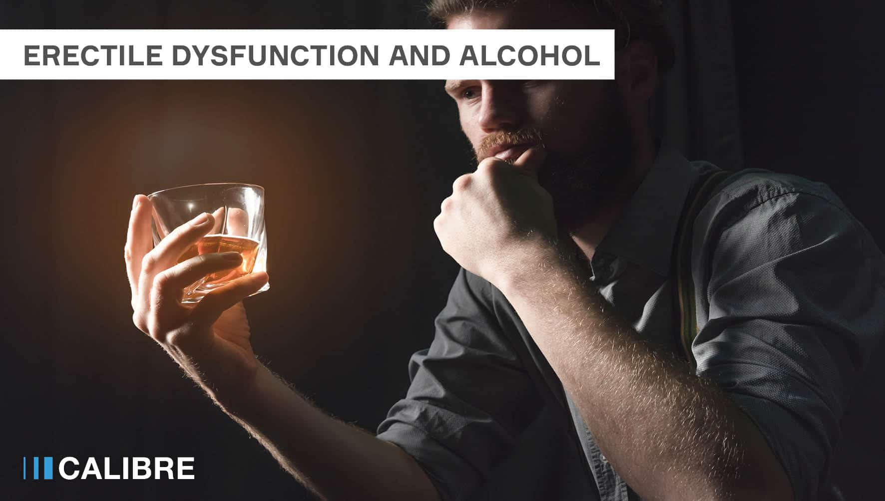 Erectile dysfunction and alcohol